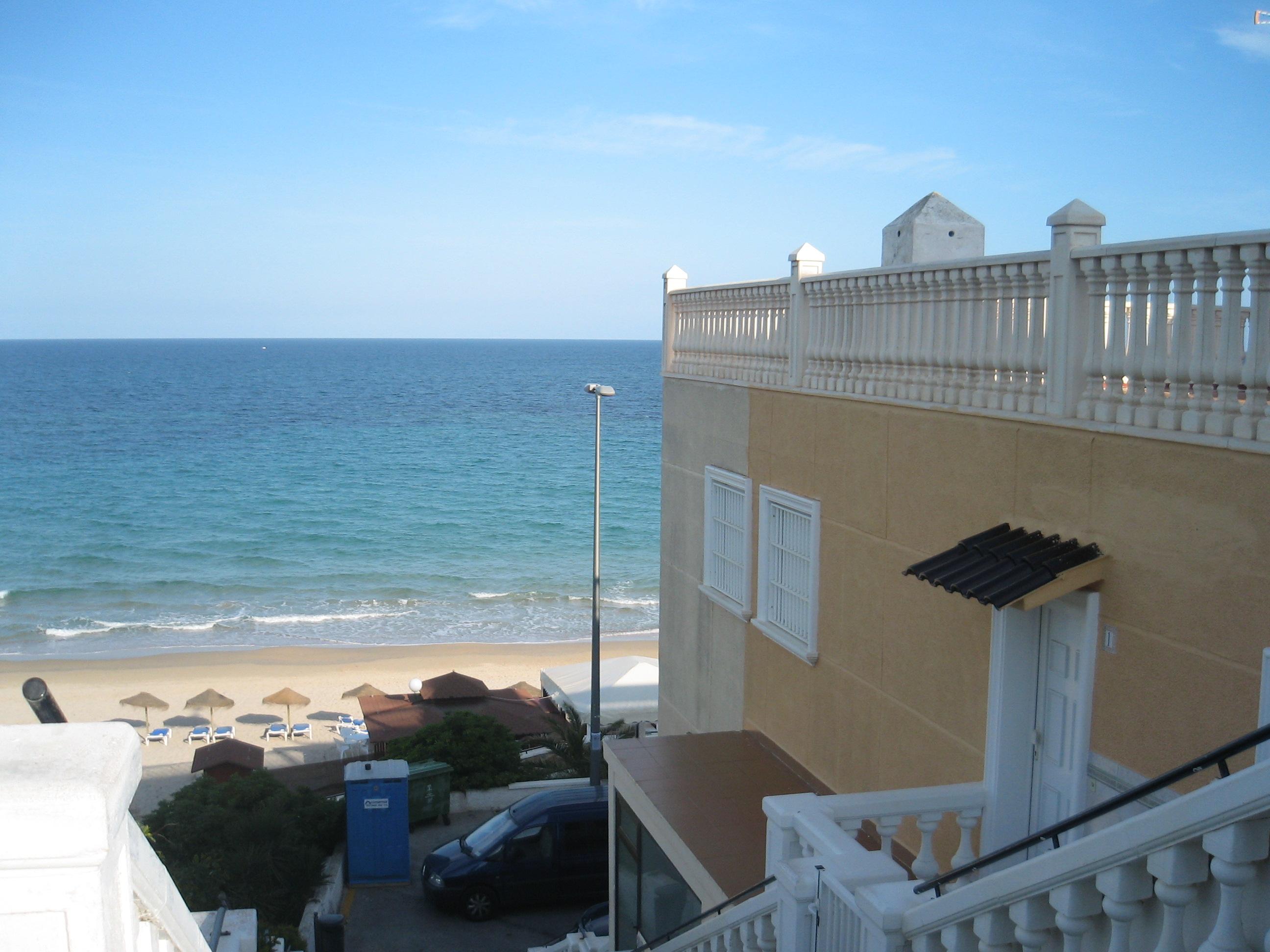 File playa de las mil palmeras alicante jpg wikimedia - Casas para alquilar en las mil palmeras ...