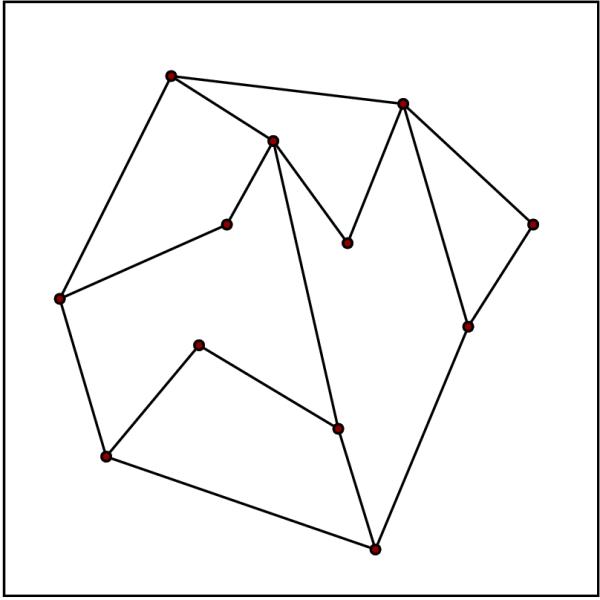 Artrage Straight Line : Planar straight line graph wikipedia