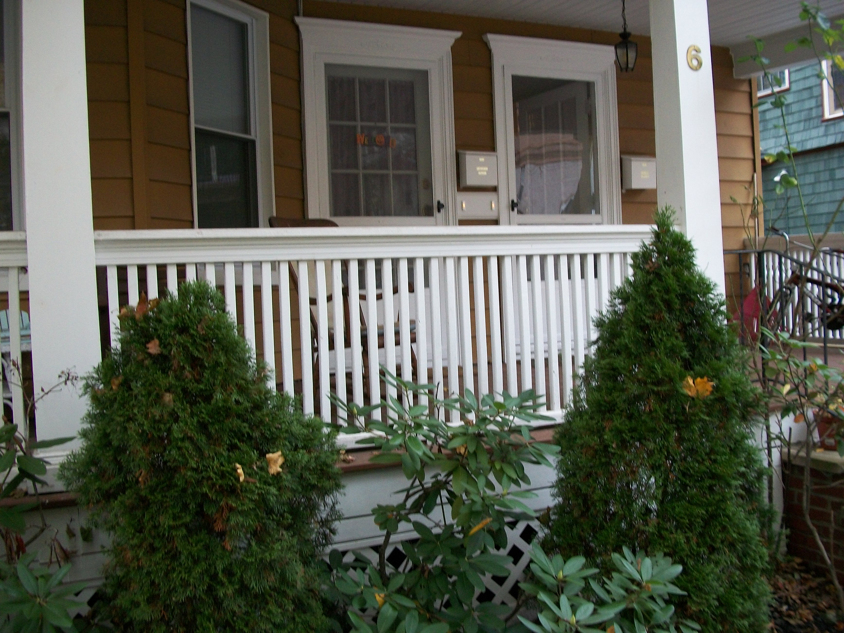 Front Elevation Railing Designs : File porch railings floorboard substructure moldings