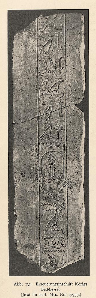 Photograph of a large fragment of an inscription carved in limestone