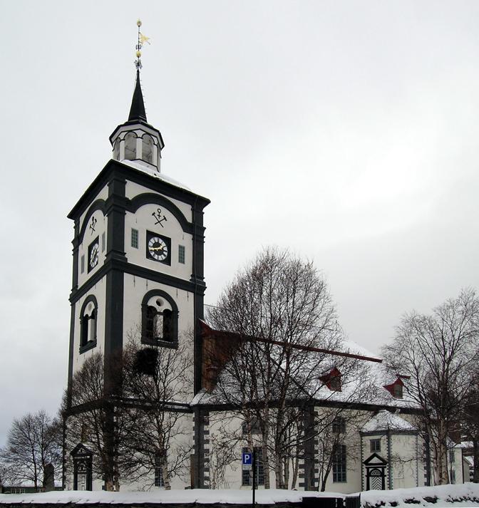 tidligere kirker nord trøndelag