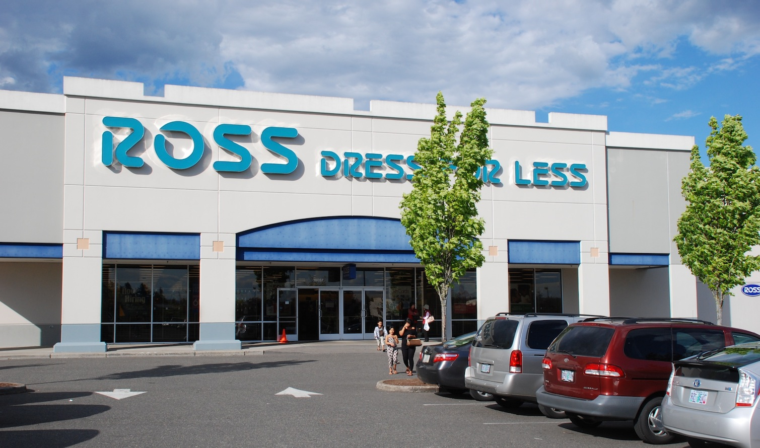 Ross clothing store locator