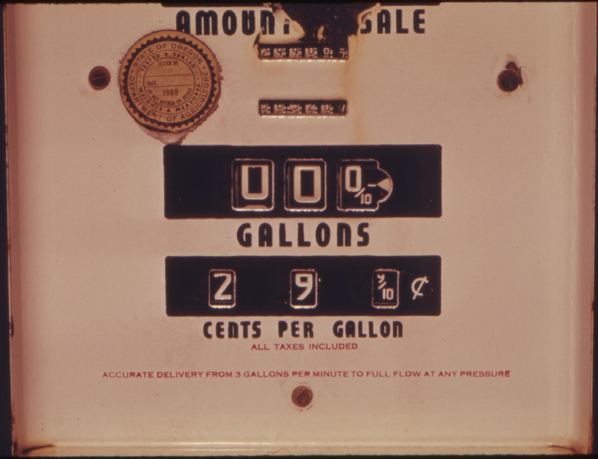 how to add gas price per gallon