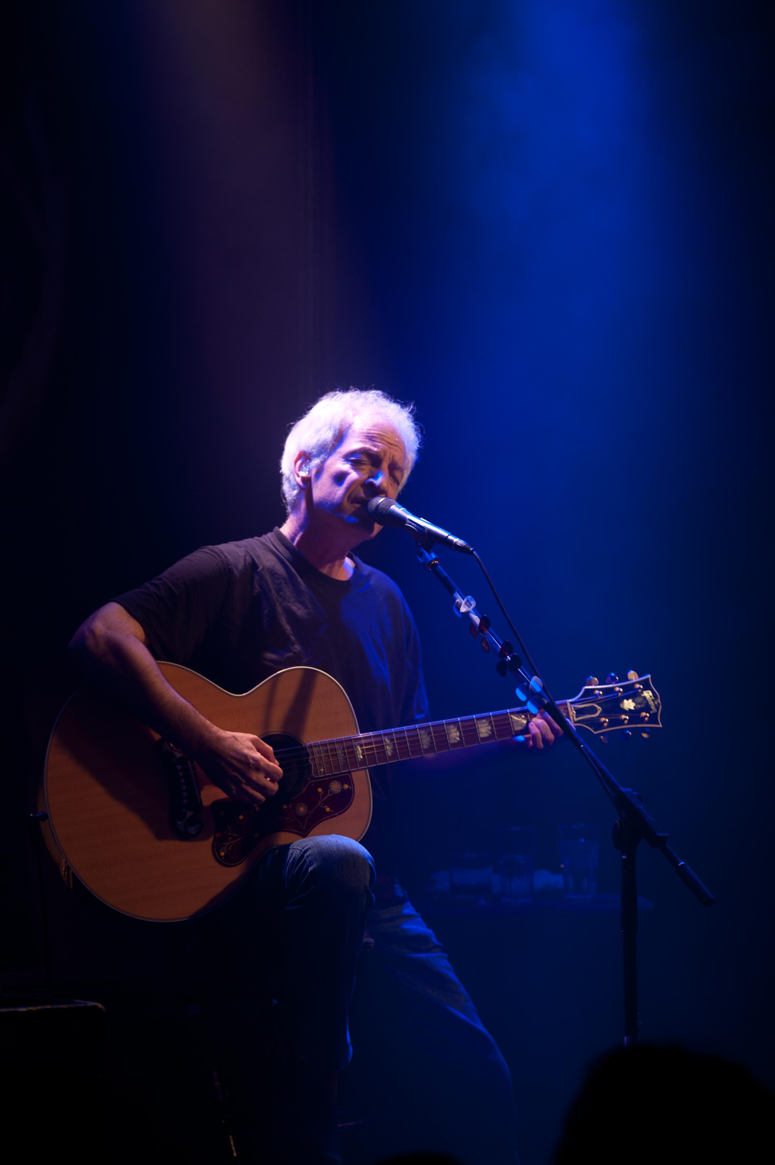 Shalom Hanoch at Zappa Tel Aviv