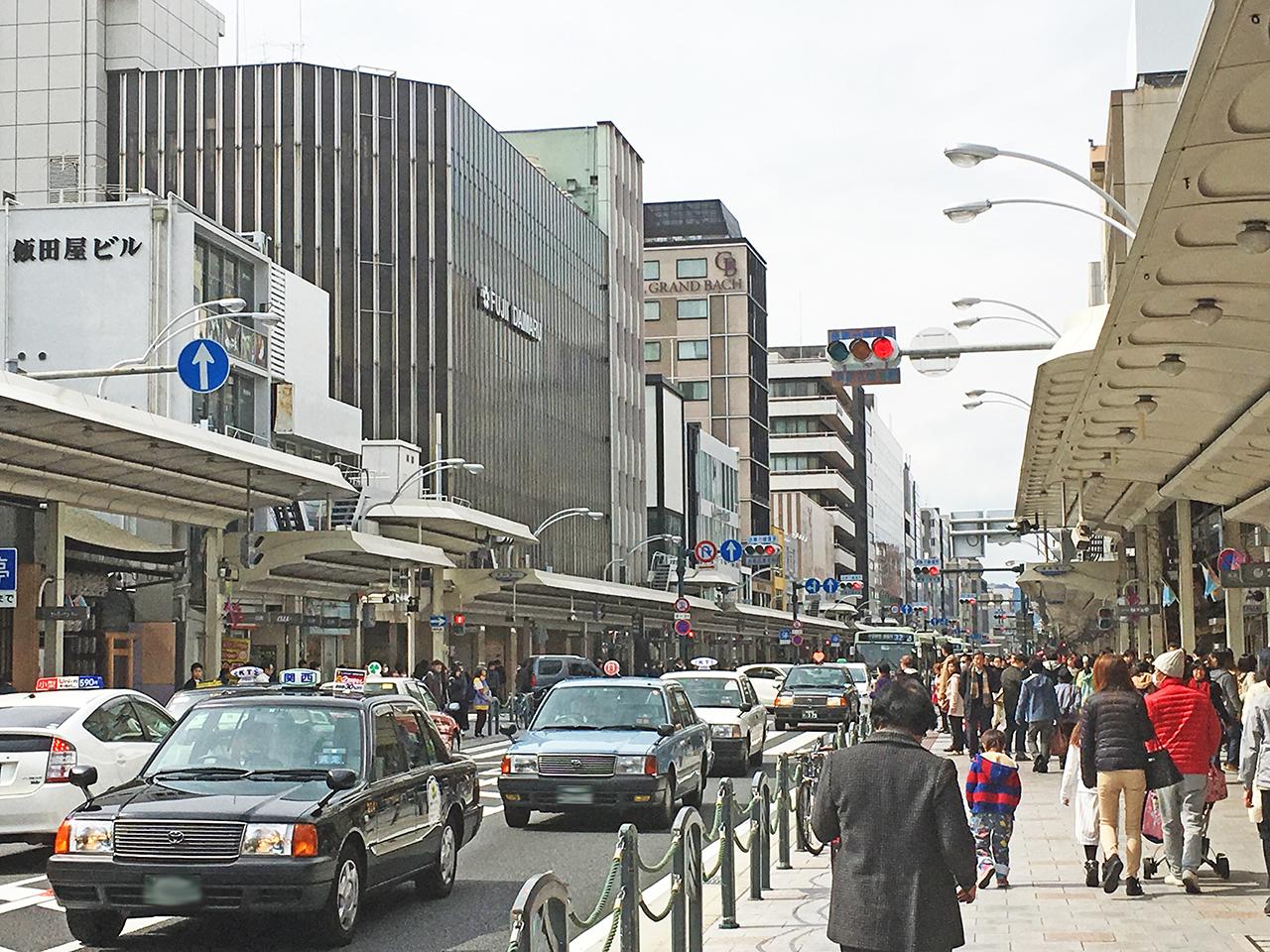 street shijo shijō dori kyoto wikipedia st