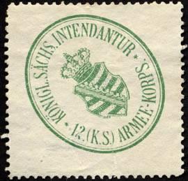 File:Siegelmarke Königlich Sächsische Intendantur - 12. (Königlich Sächsische) Armee - Korps W0228104.jpg