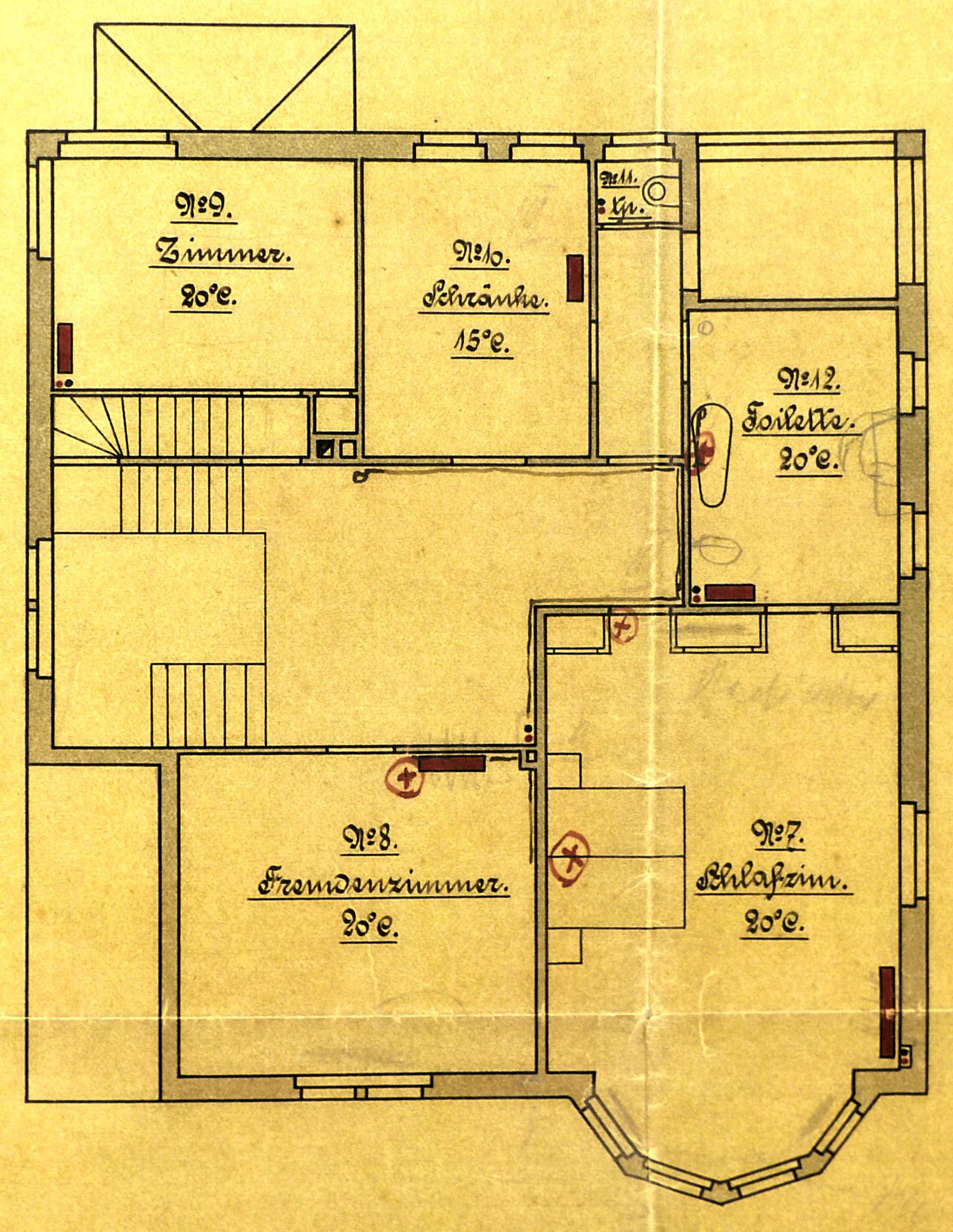Dateisonnenhaus Bamberger Otto Lichtenfels Obergeschoss