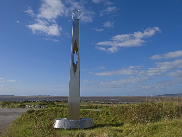 Stainless Steel Pillar - geograph.org.uk - 1604234