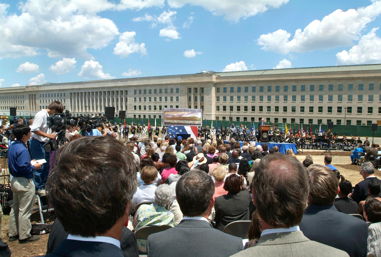 Start of Pentagon Memorial construction ceremony