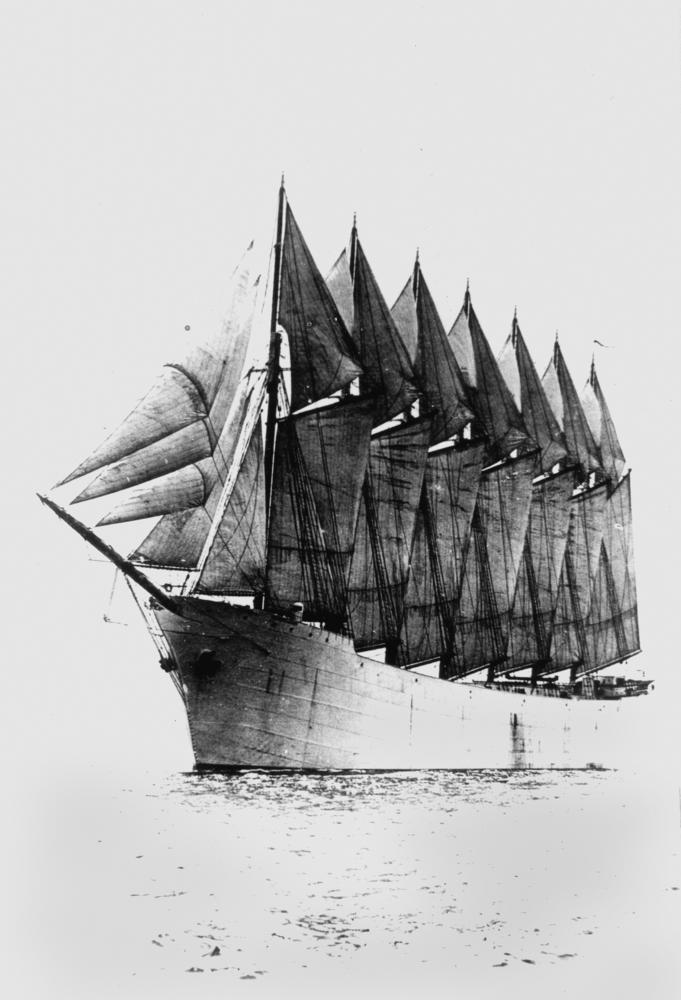 схемы парусного вооружения