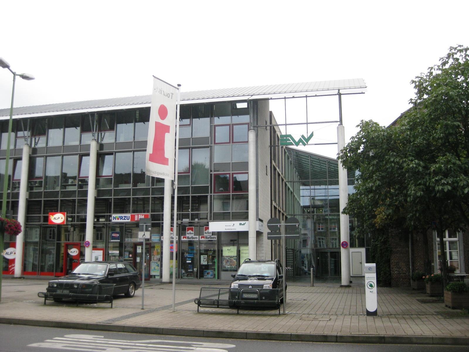 Eschweiler Use Of Colored Brick In His Buildings