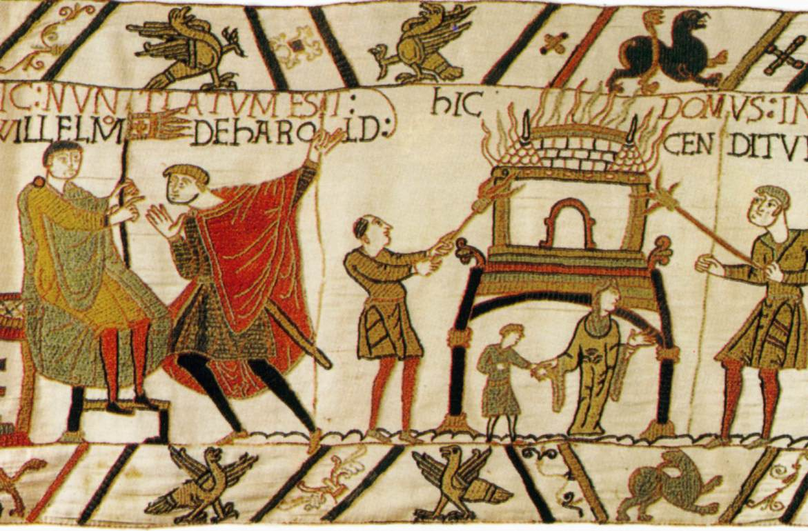 what is the bayeux tapestry History and facts about britain's bayeux tapestry with sir dig-a-lot the picture tells the tale of william the conqueror's invasion of england, in 1066.