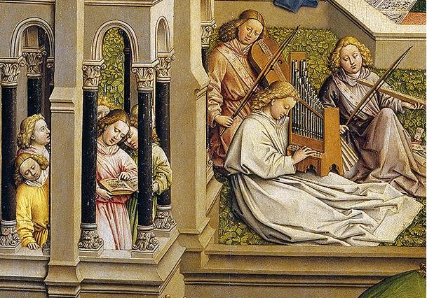 Resultado de imagem para van eyck the fountain of life
