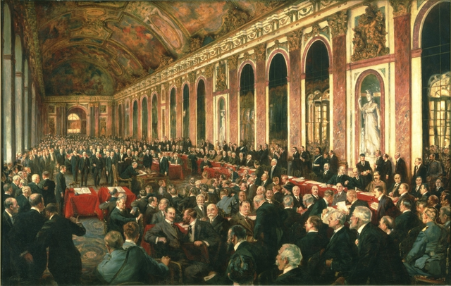 the two main issues of the treaty of versailles