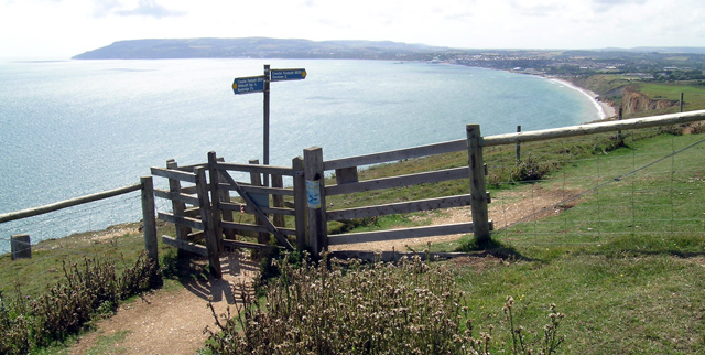 The view from Culver Down (of Sandown Bay) - geograph.org.uk - 13228