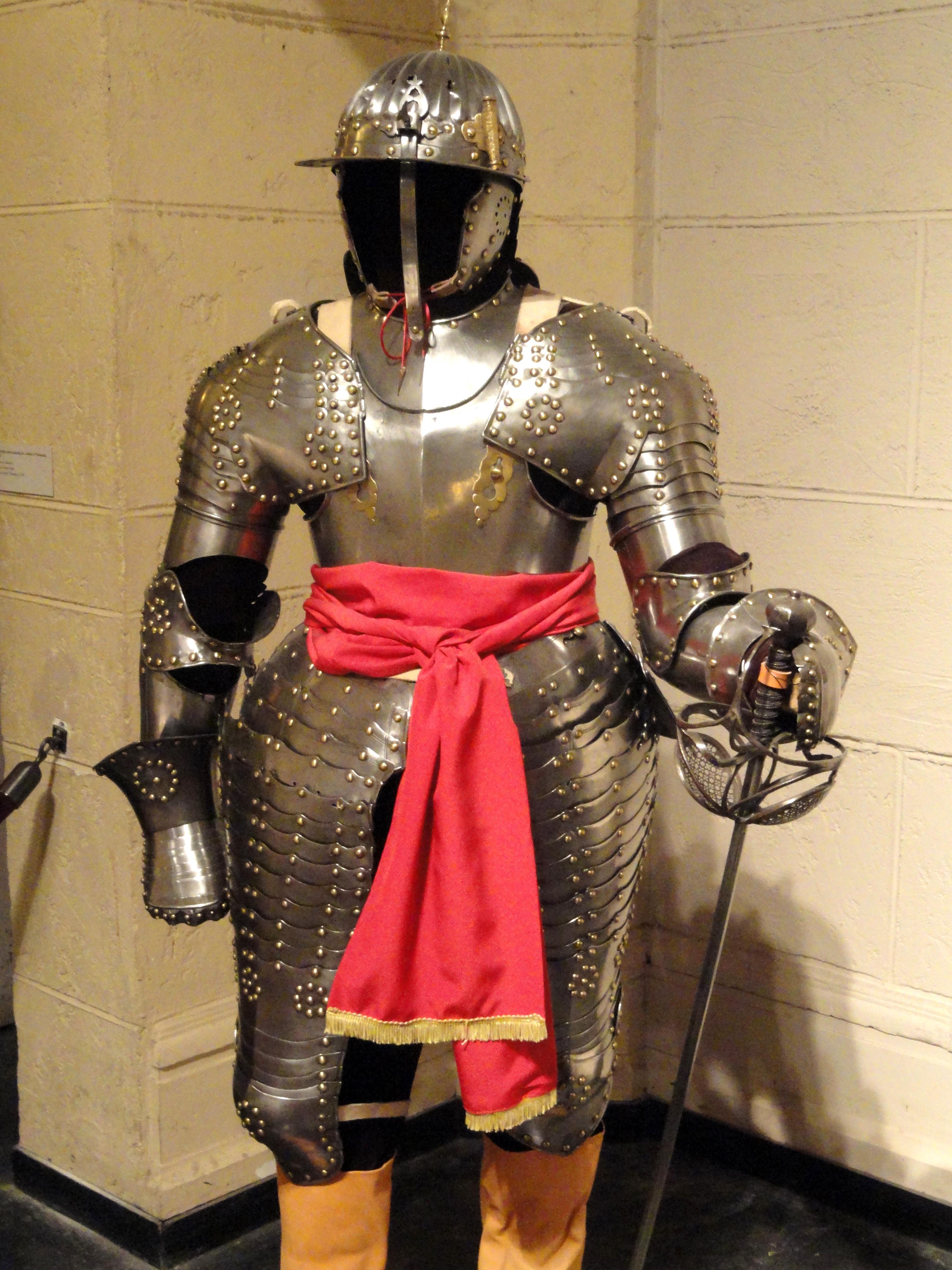 File Three Quarter Armor For Cuirassier Augsburg 1620