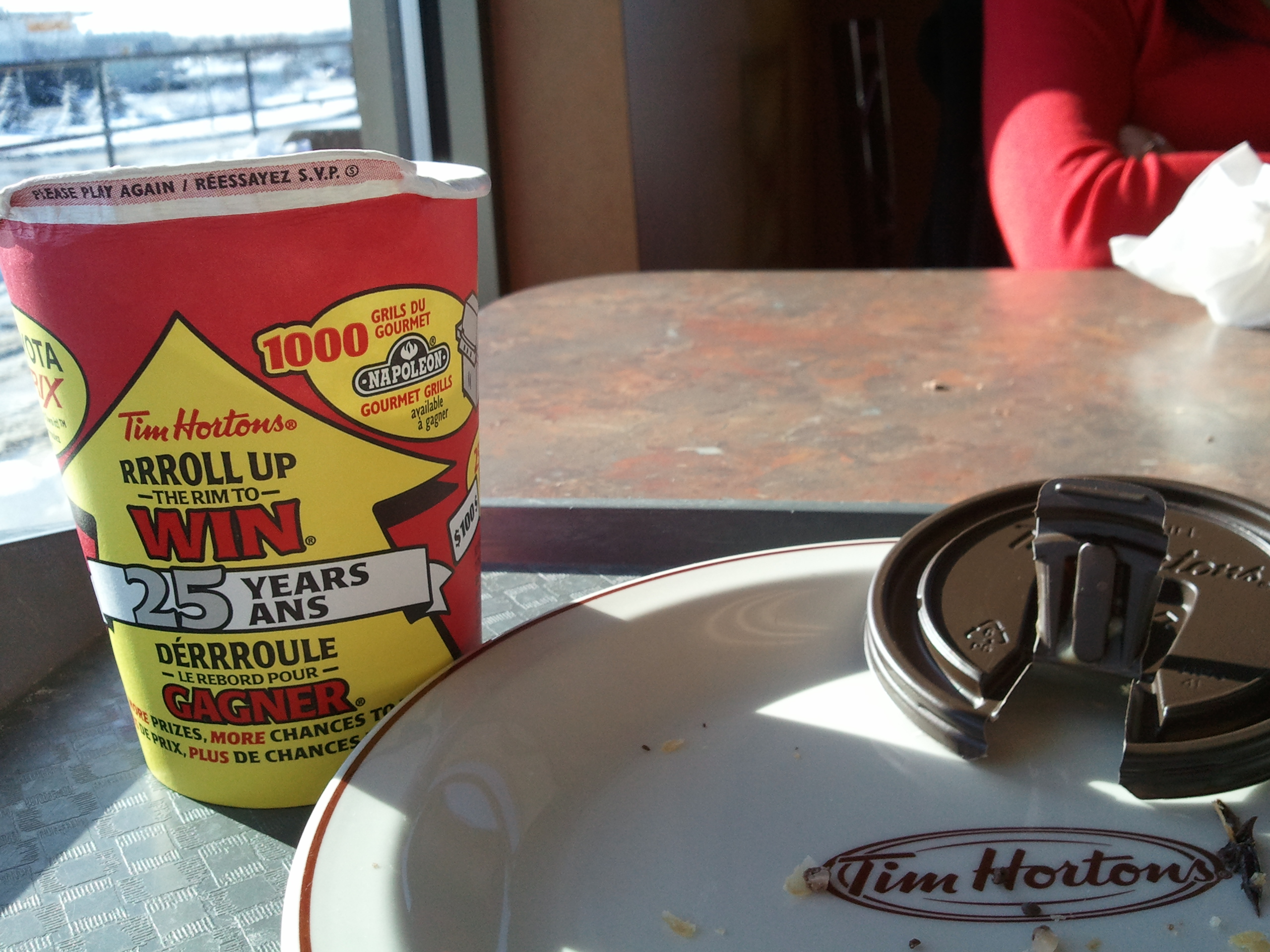 the history of tim hortons