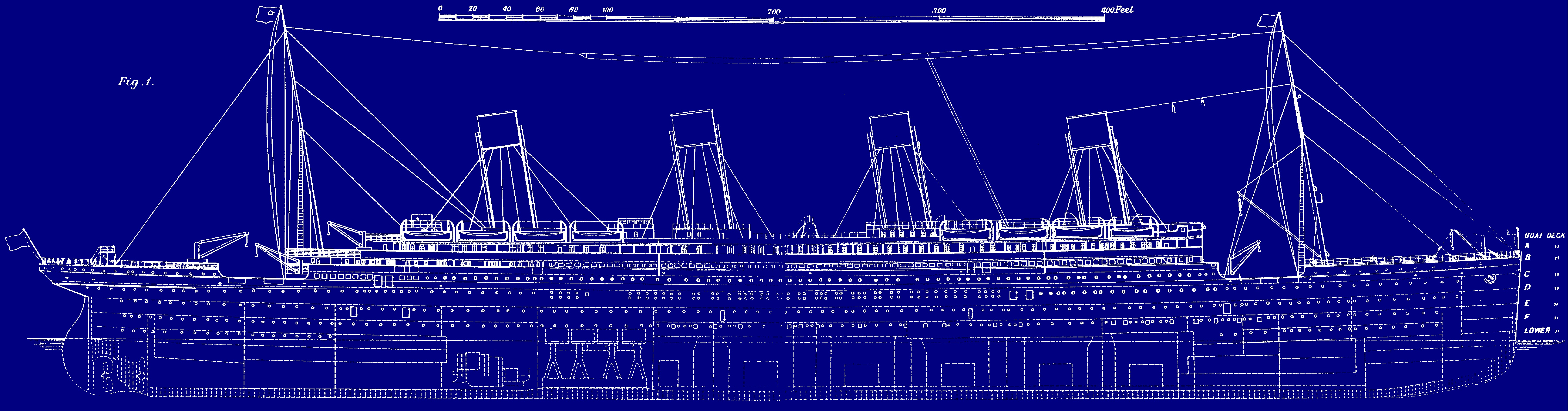 File titanic original wikimedia commons for Pics of plans