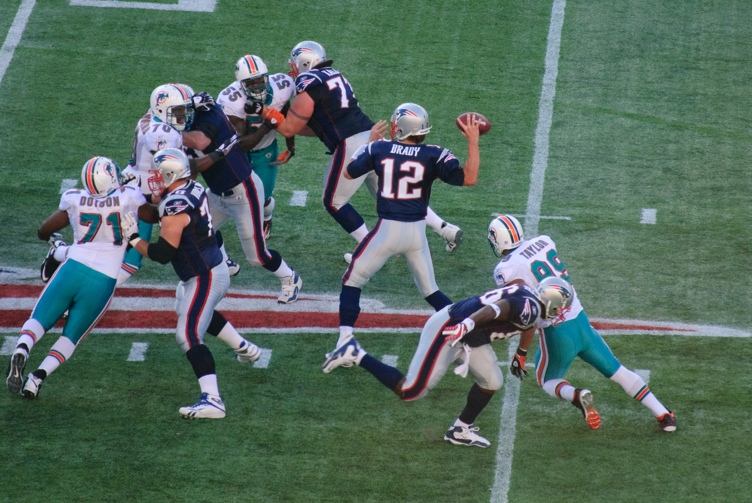 New England v. Miami NFL