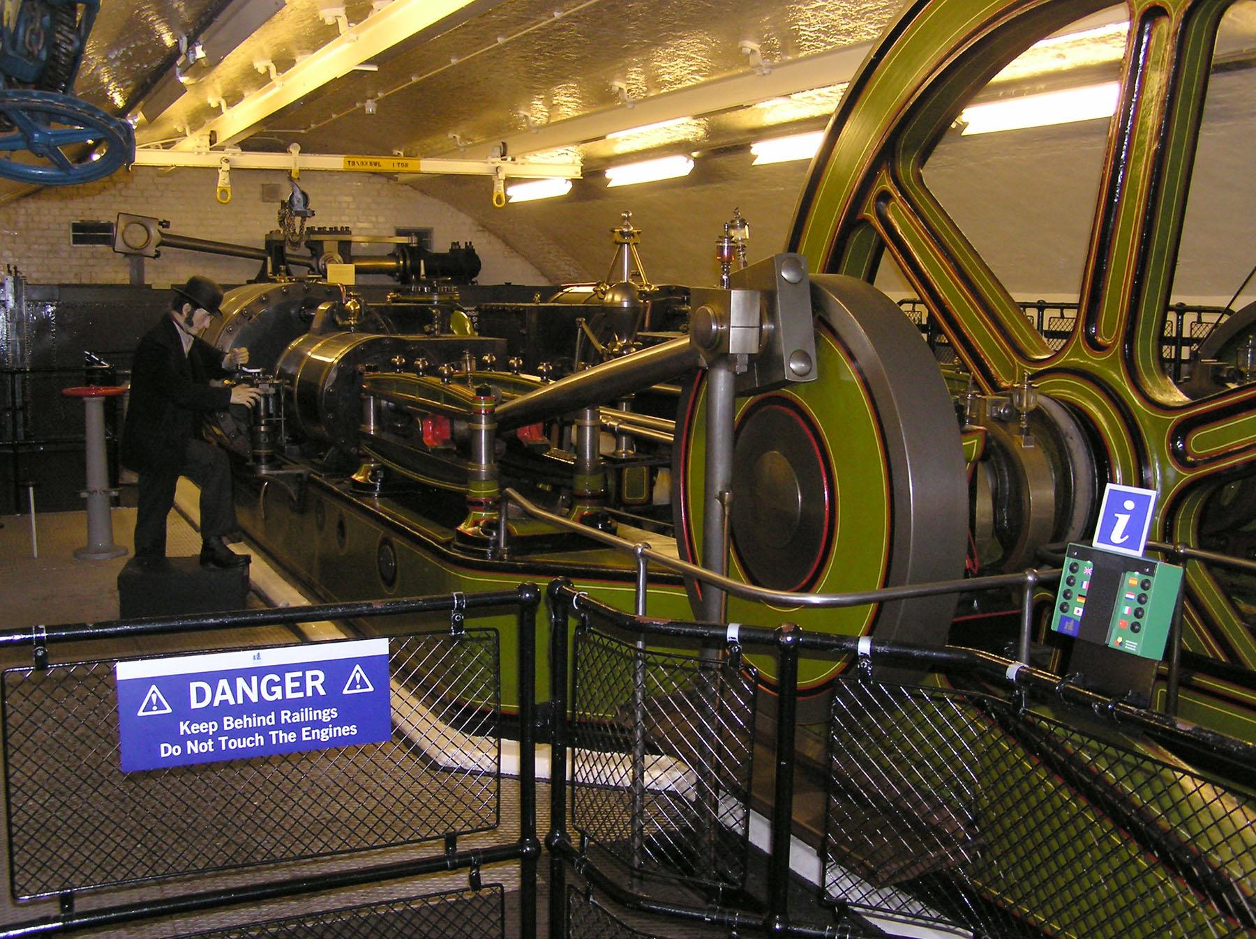 Stationary steam engine - Wikipedia