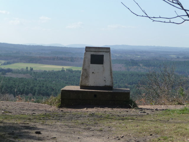 Trig Point on Crooksbury Hill - geograph.org.uk - 1217479
