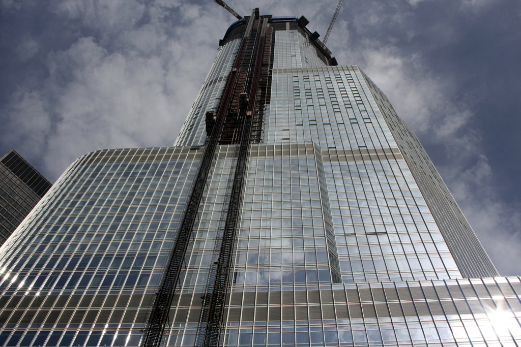 The Trump Tower Caught Fire