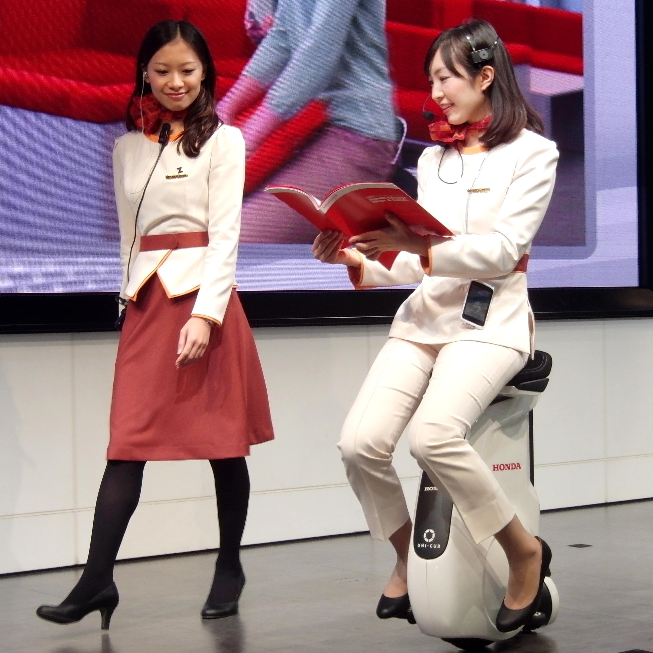 watch uni motor cub tokyo show the honda