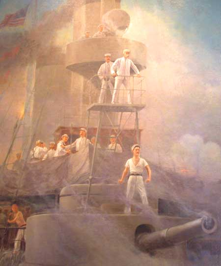 http://upload.wikimedia.org/wikipedia/commons/4/4c/USS_Olympia_with_Dewey_at_Battle_of_Manila_bay_DSCN4191_at_Vermont_State.jpg