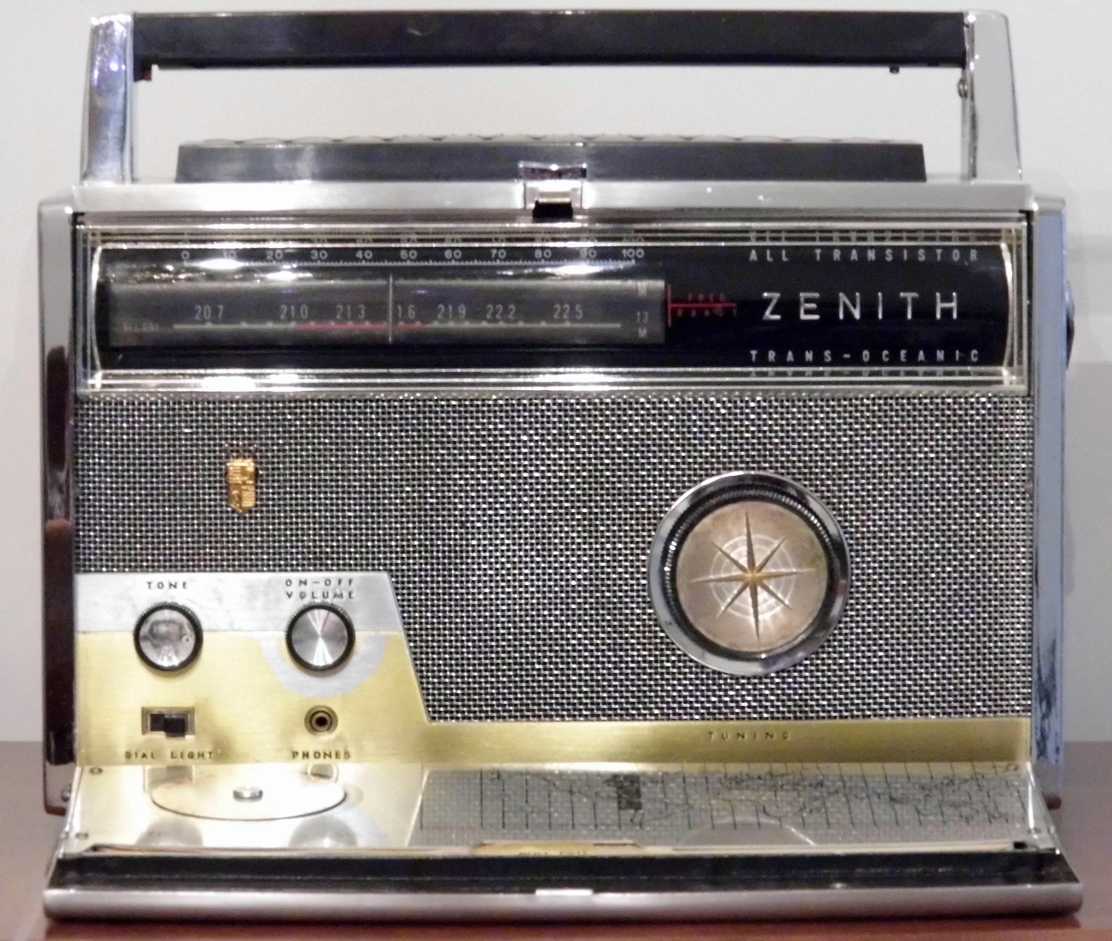zenith tube radios for sale
