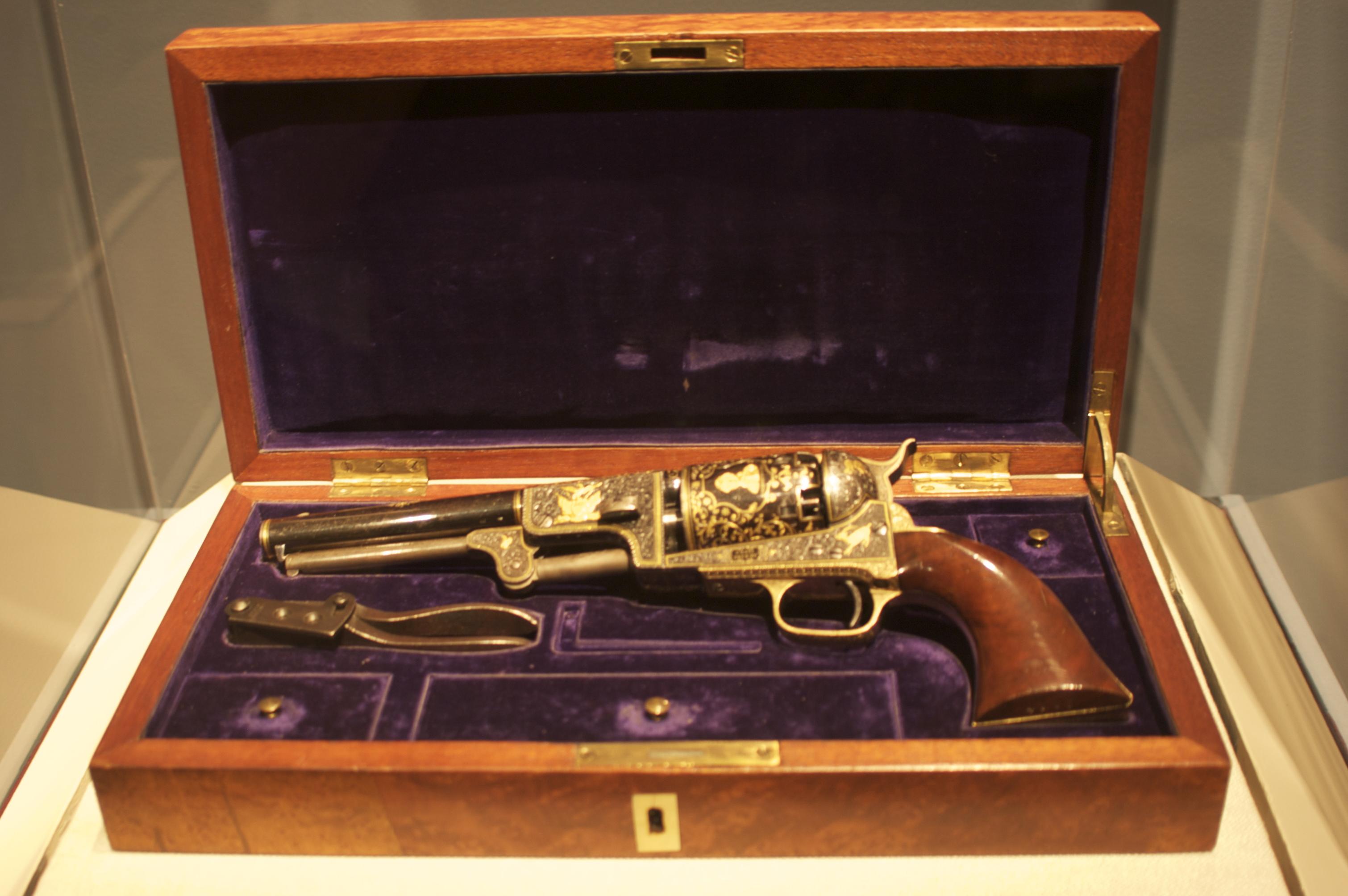 Description WLA metmuseum Sultan of Turkey Colt Dragoon revolver.png
