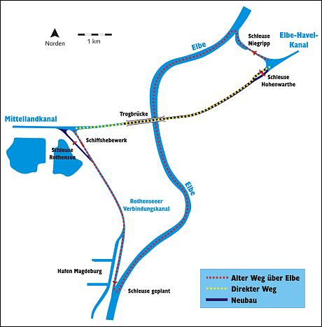 ماغديبورغ Wasserkreuz_umweg.pn