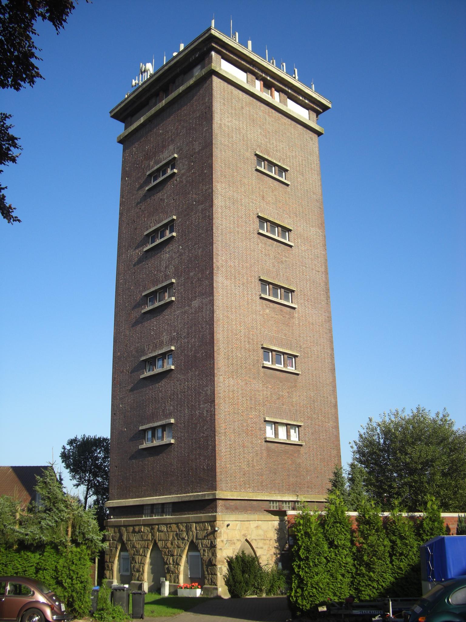 File Wasserturm Stadtlohn Jpg Wikimedia Commons