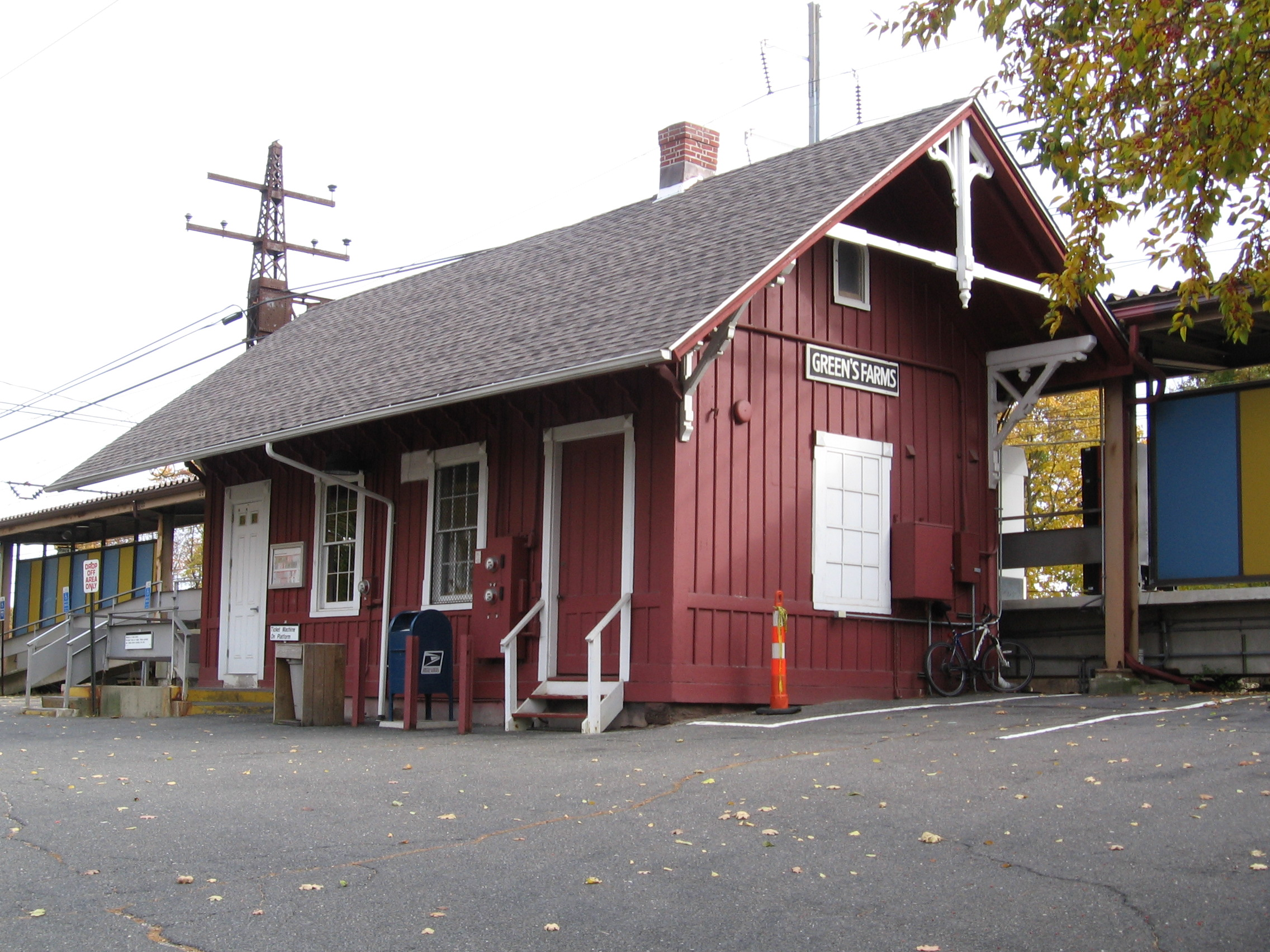 Green's Farms station - Wikipedia
