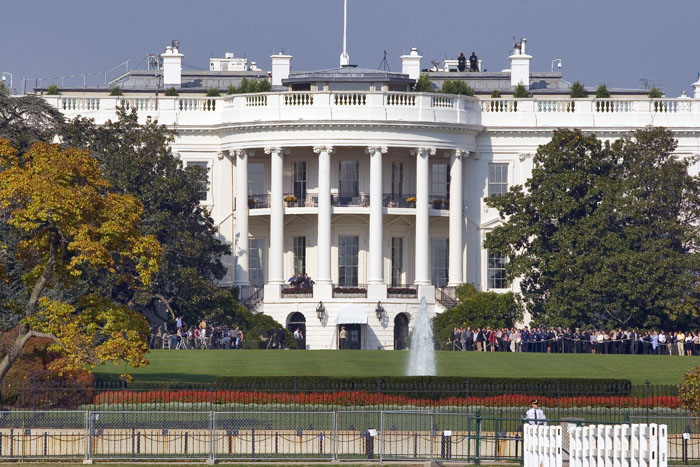 Fichier:White House view with crowd.jpg