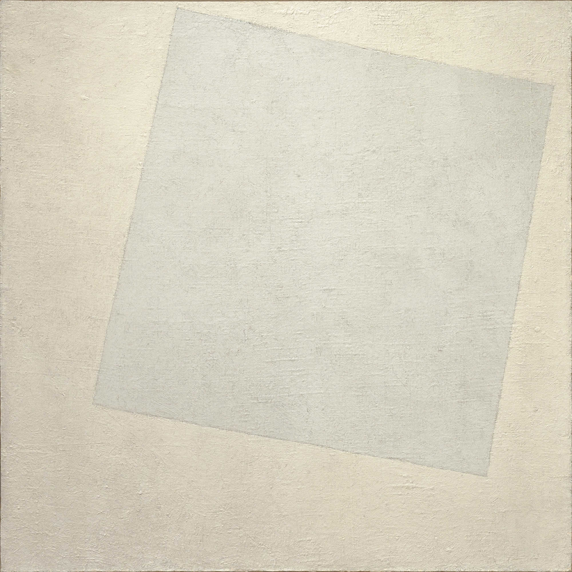 Résidus de lyrisme - Page 5 White_on_White_%28Malevich%2C_1918%29