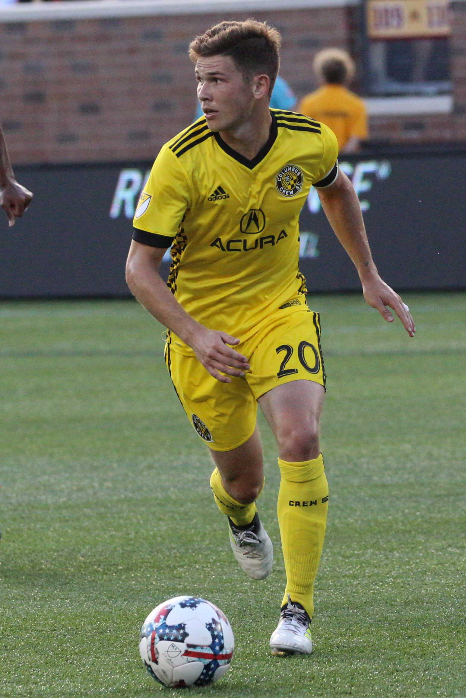 0379c6b79 Trapp was the youngest player in MLS history to serve as team captain in a  league match