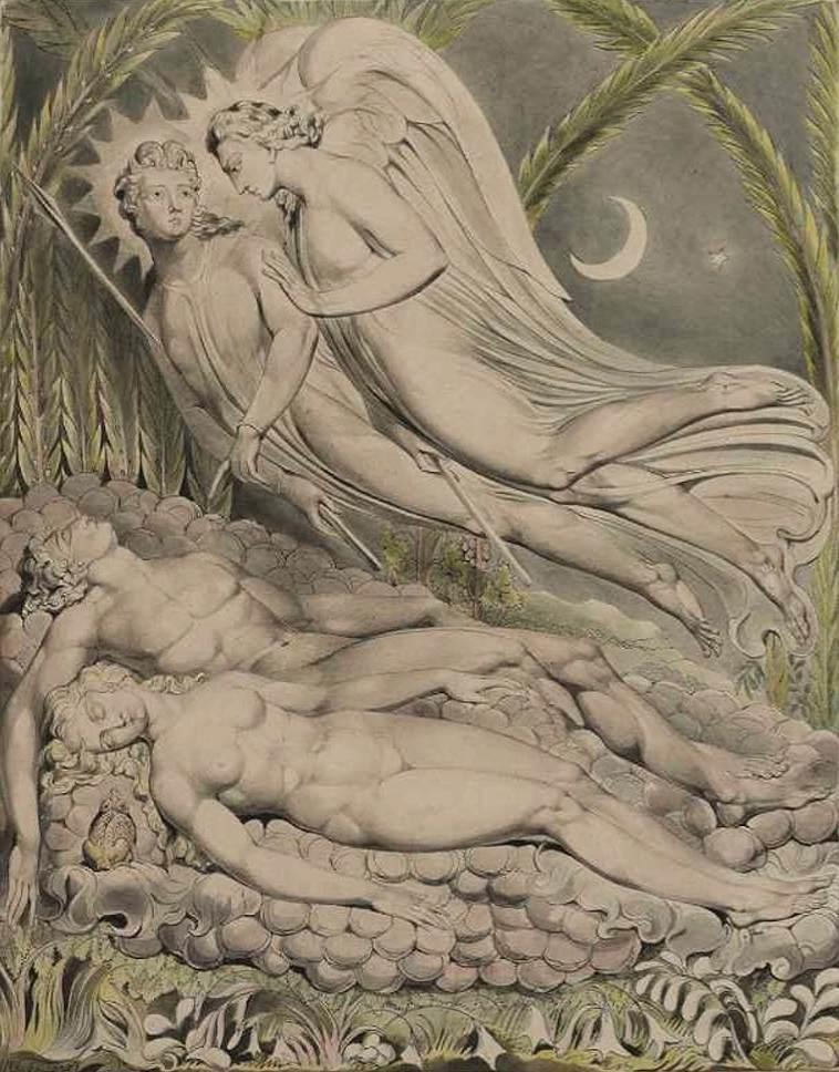 File:William Blake - Adam and Eve Sleeping - WGA02224.jpg ...