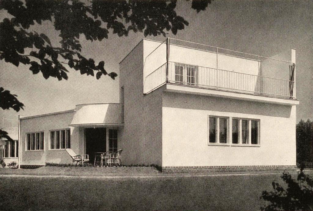 Maison n°37 lors de l'exposition WUWA à Wroclaw - Photo de Heinrich Klette.