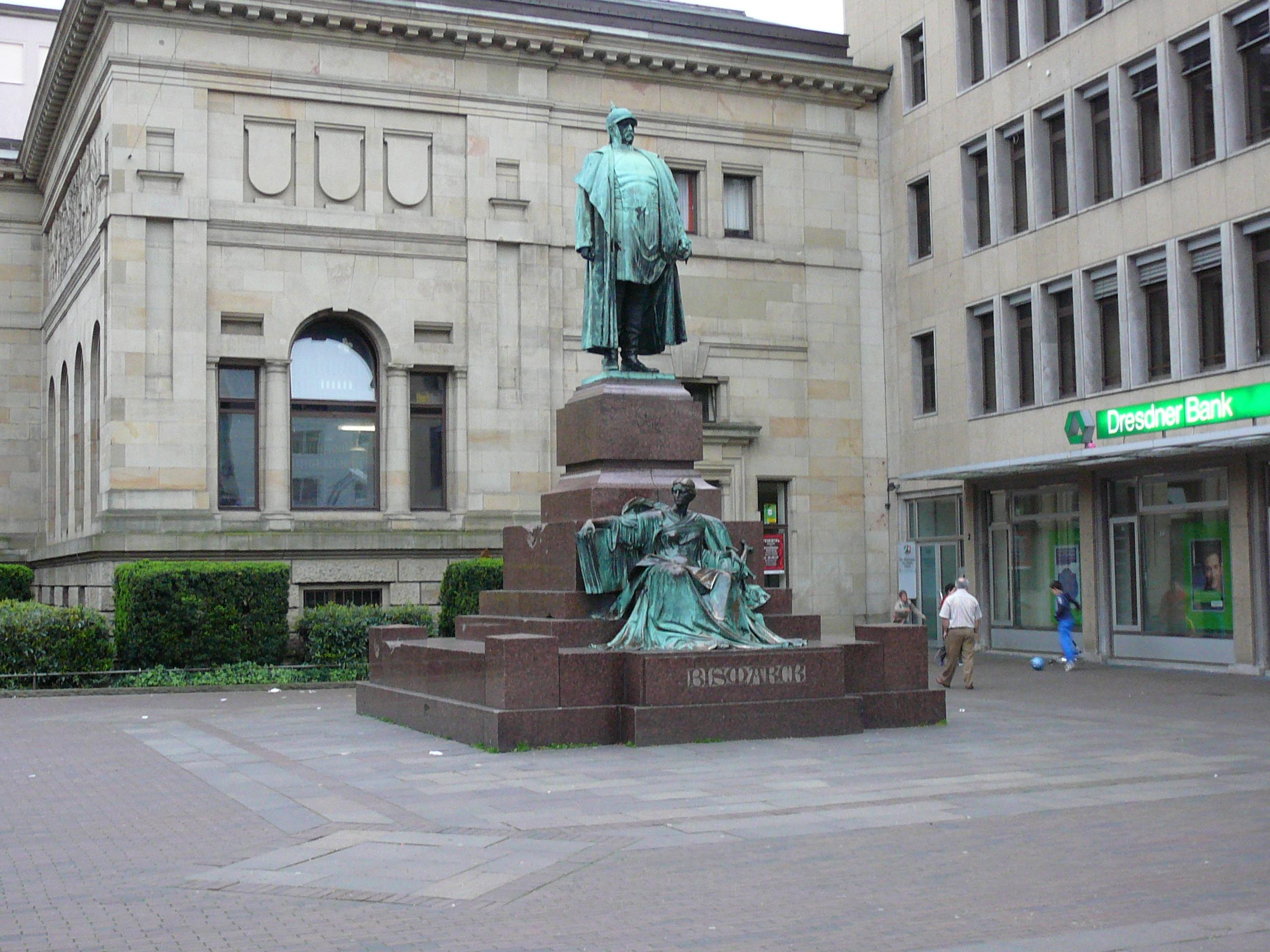 Bismarck Denkmal Berlin Bismarck-denkmal Barmen