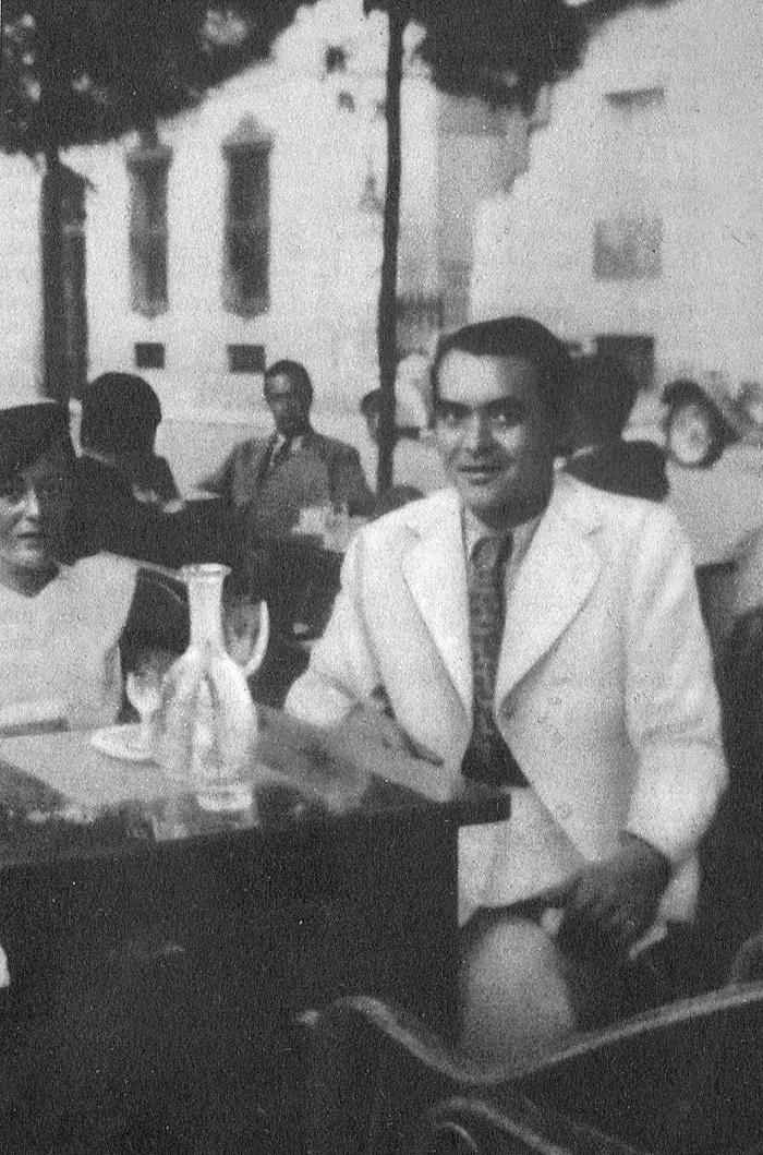 File última Foto Conocida De Federico García Lorca Con