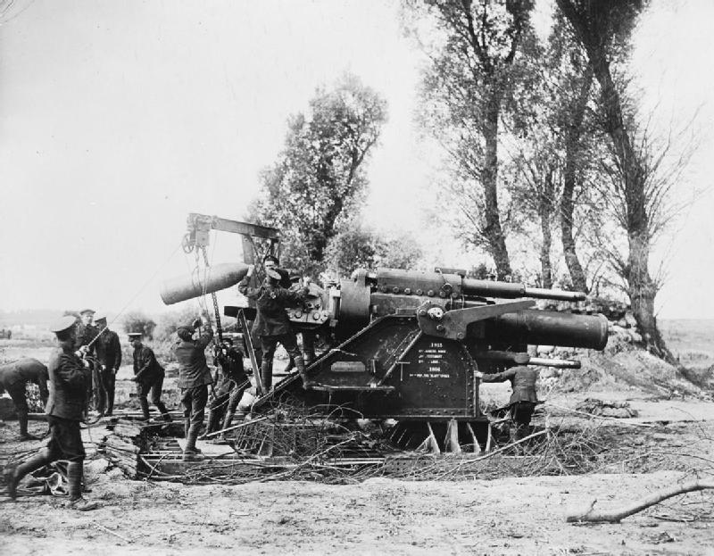 15 in Howitzer at the Somme 1916