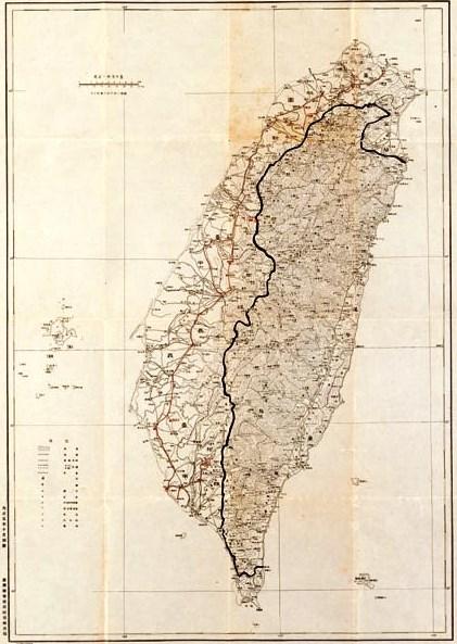 1916年日本人所繪臺灣地圖_Map_of_Taiwan_-_Formosa_by_Japanese.jpg (421×593)