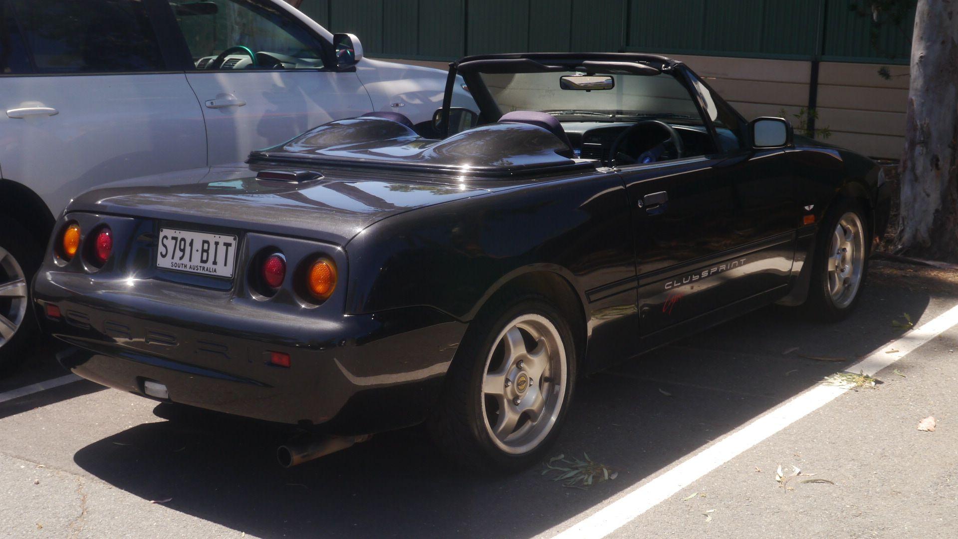 File 1992 1993 Ford Capri Sc Clubsprint Convertible 25903205835 Jpg Wikimedia Commons