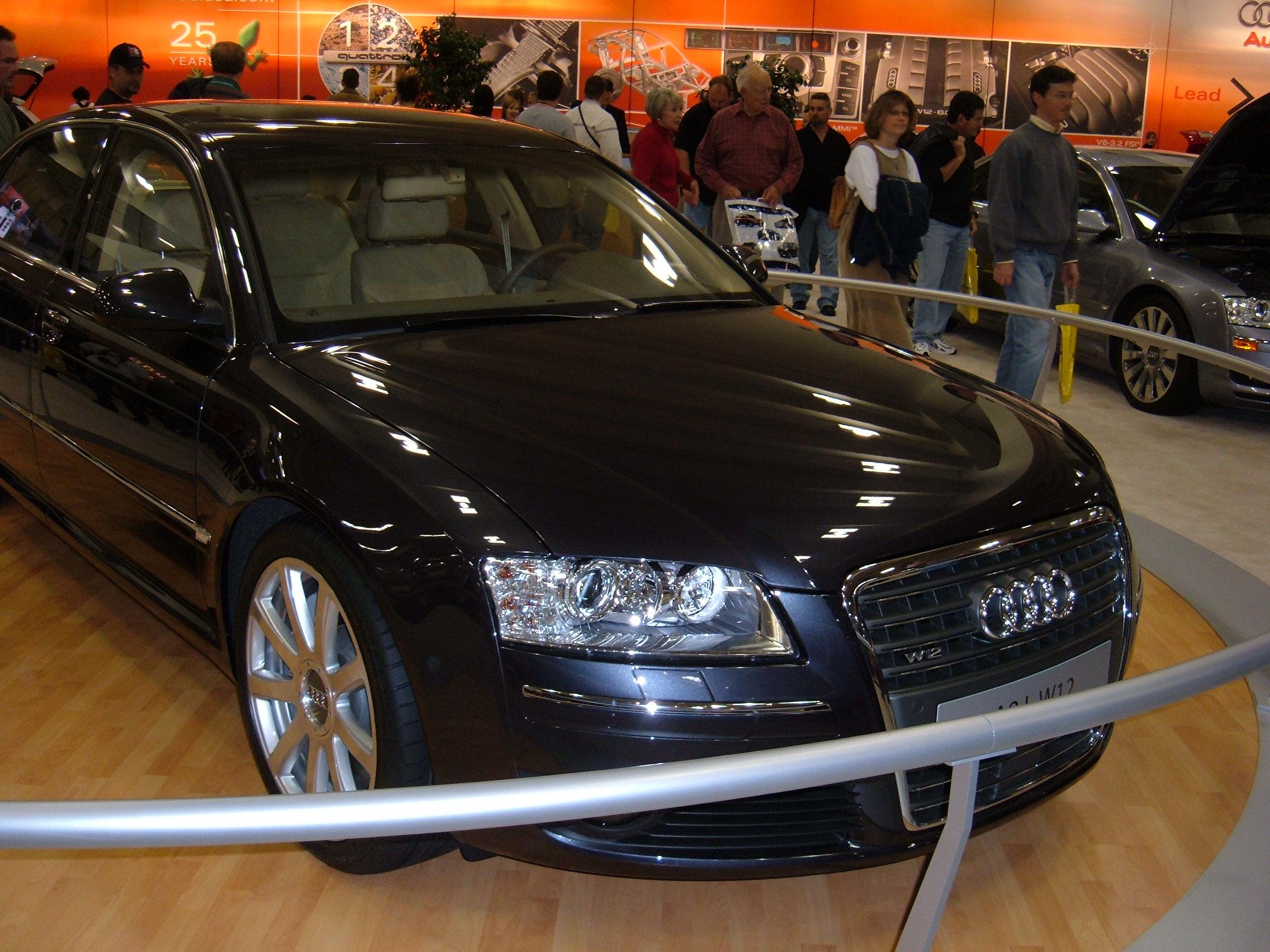 File 2005 Audi A8 L W12 European Model 1 Jpg Wikimedia