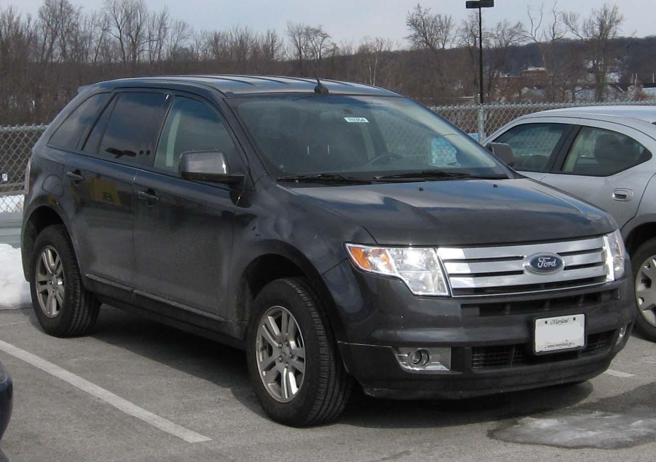 File 2007 Ford Edge Jpg Wikimedia Commons