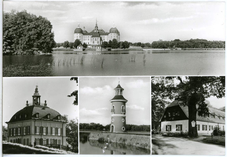 File:30110-Moritzburg-1977-Schloß mit Leuchtturm, Fasanenschlößchen ...