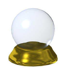 3DCrystal ball Scientific Predictions