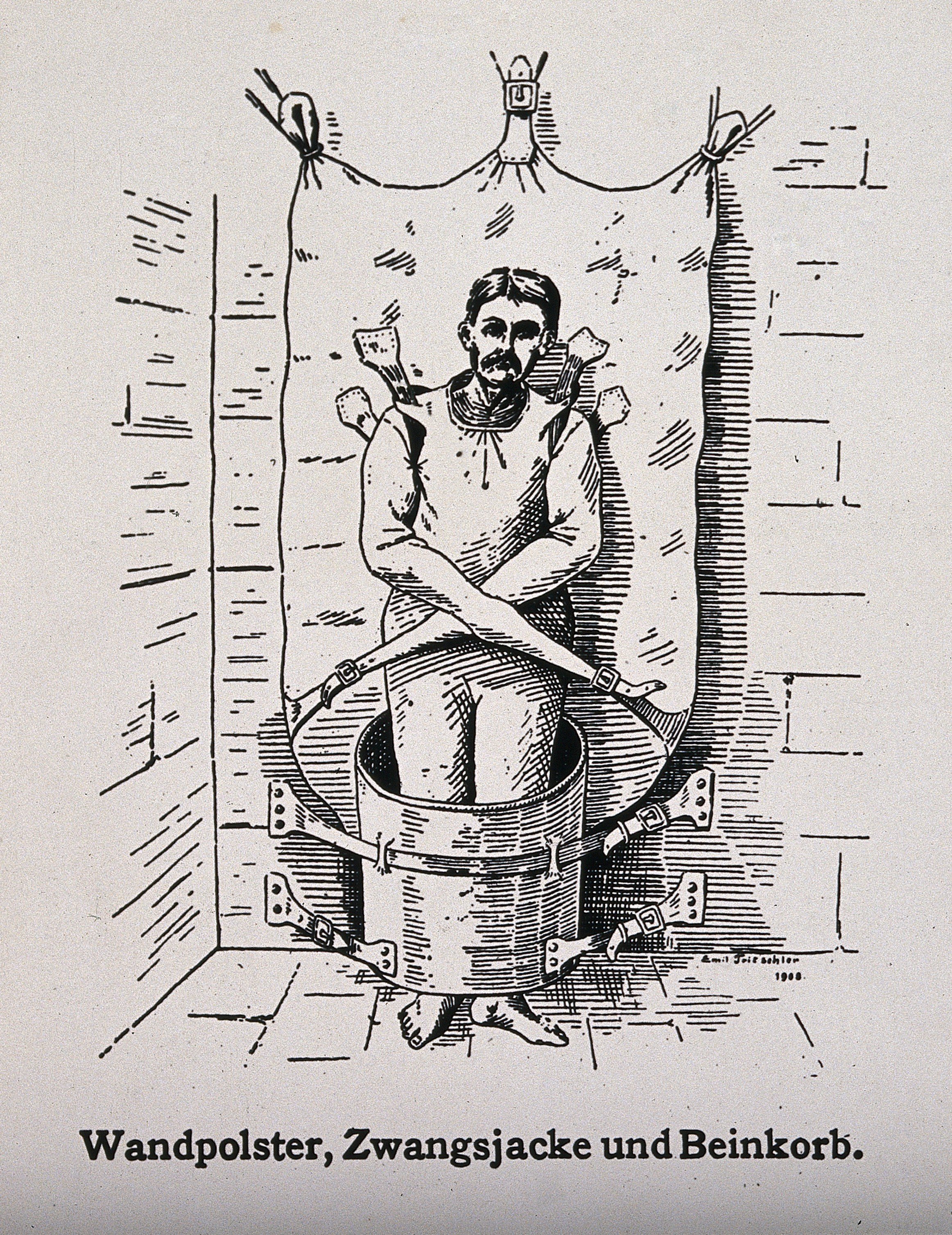 filea mentally ill patient in a attached to the wa wellcome