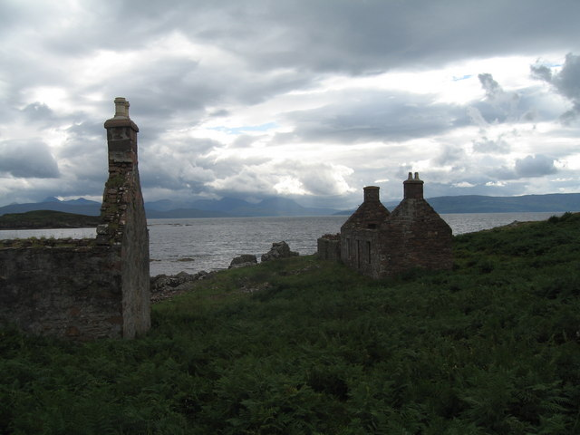 Abandoned village, south of Applecross - geograph.org.uk - 1095402