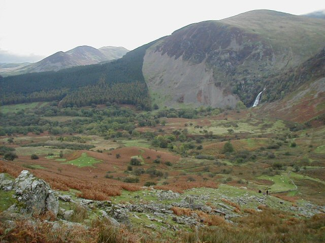 Aber Falls and valley - geograph.org.uk - 135493